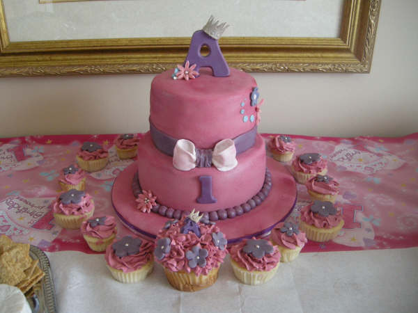 in 1st birthday cakes,Uncategorized,birthday cake ideas,cakes for girls,pink